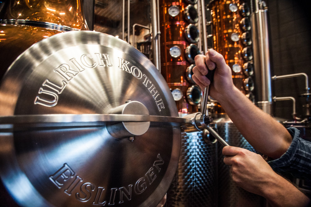 Tour and then taste the spirits at Park Distillery in Banff -
