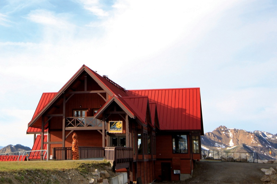 Eat an elevated lunch at Canada's highest restaurant -