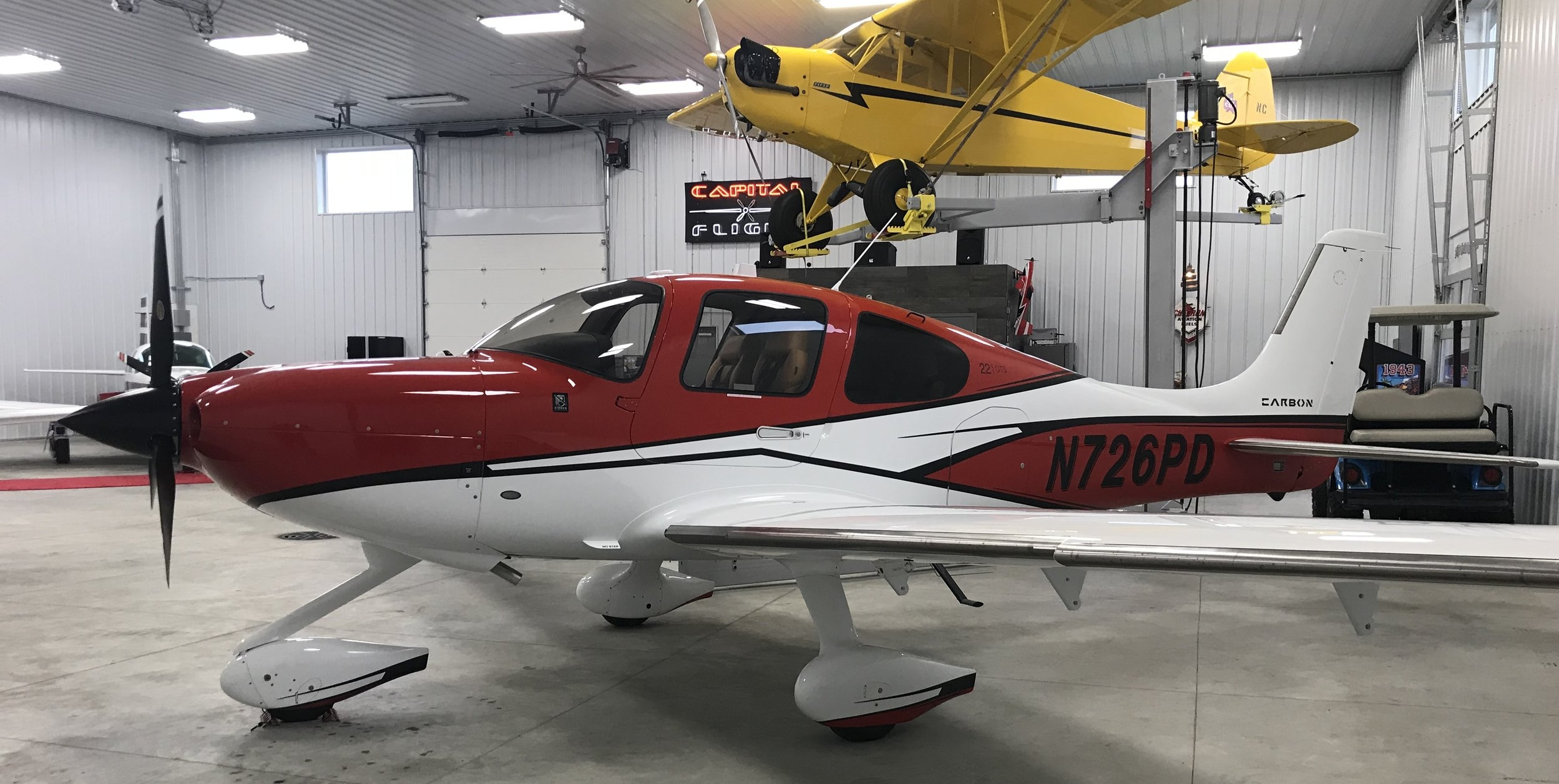2017 Cirrus SR22 G6 - Available for training and rental