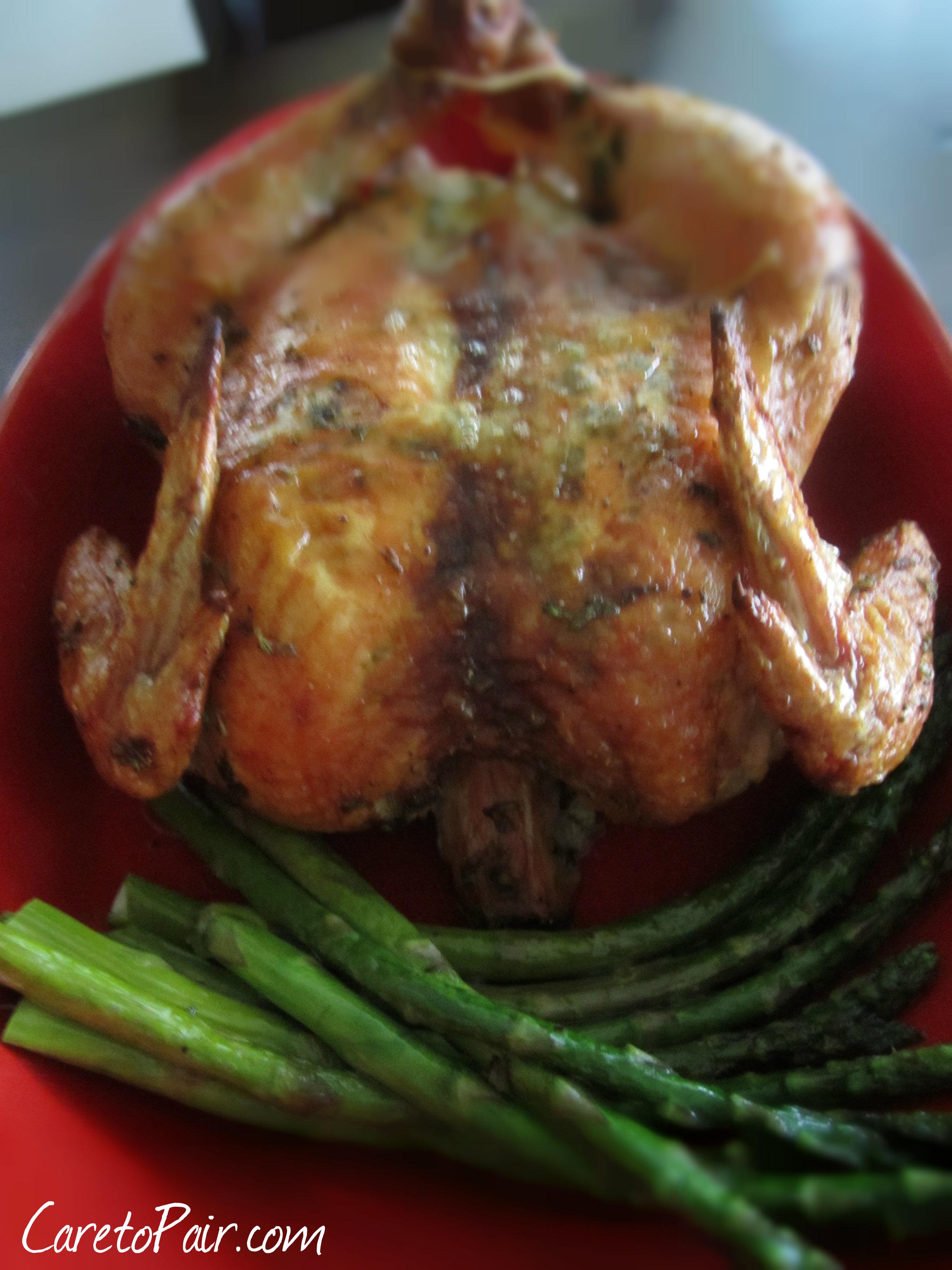 Roast Chicken from CaretoPair Blog