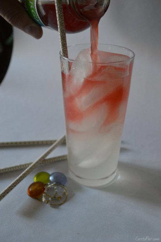 Kombucha Gin Rickey | CaretoPair.com