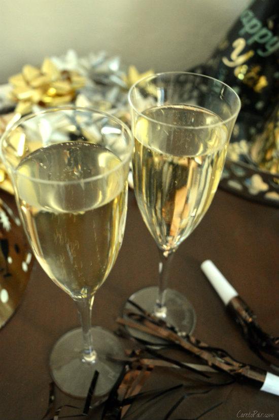 NYE Champagne |CaretoPair.com
