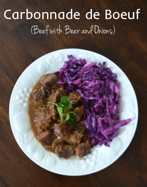 Carbonnade de Boeuf with Beer and Onions | CaretoPair.com