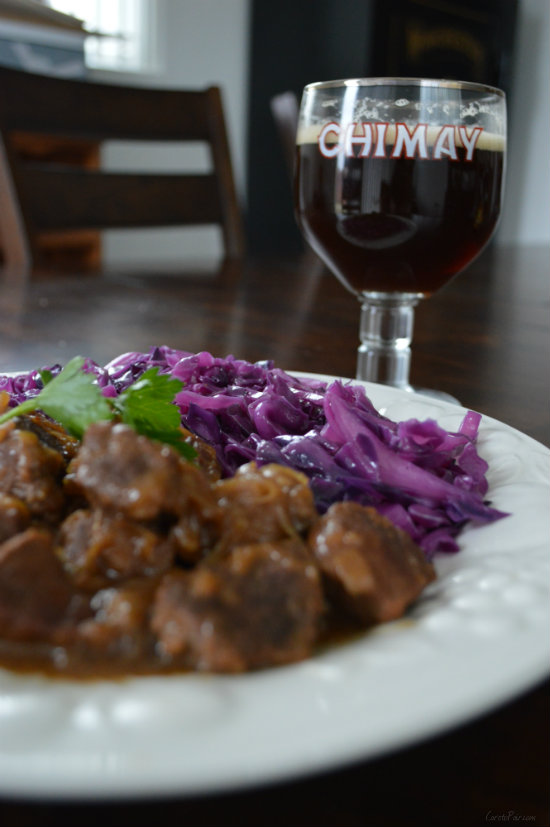 Carbonnade de Boeuf with Chimay