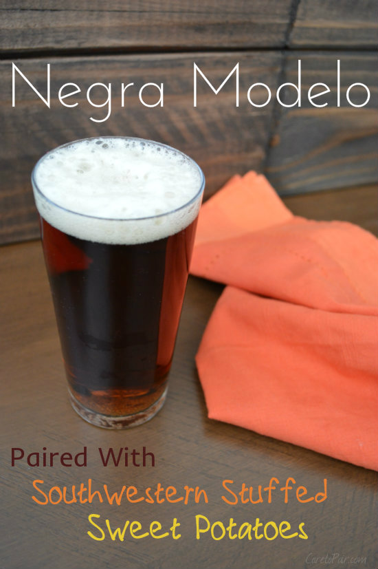 Negra Modelo Paired with Southwestern Sweet Potatoes on CaretoPair.com
