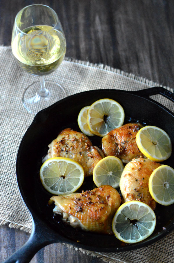 Pair Chardonnay with your favorite lemon chicken dish. Details inside! | CaretoPair.com