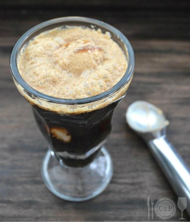 Peanut Butter Chocolate Stout Float | CaretoPair.com