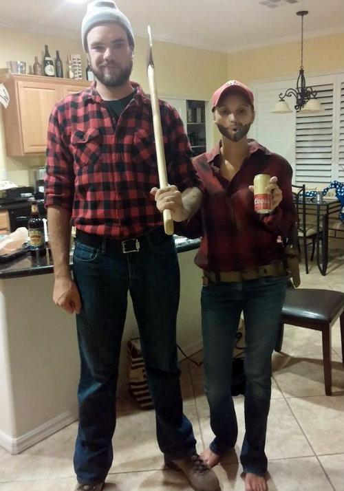 Dani was Andrew for Halloween | CaretoPair.com