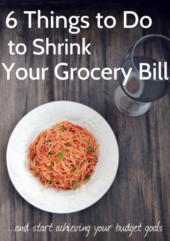 6 ways to shrink your grocery bill and achieve your meal plan budget goals | CaretoPair.com
