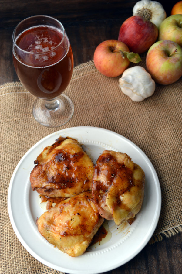 Pumpking Beer Pairing with Brown Sugar Roasted Chicken | CaretoPair.com
