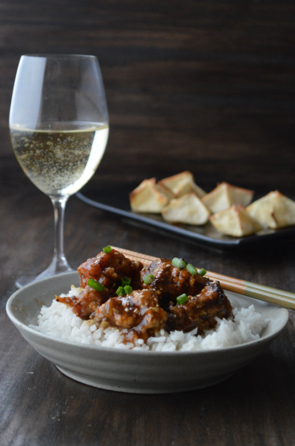What Wine to Pair with Chinese Takeout. Make a fancy date night in and either cook your own or order Chinese Takeout! | CaretoPair.com