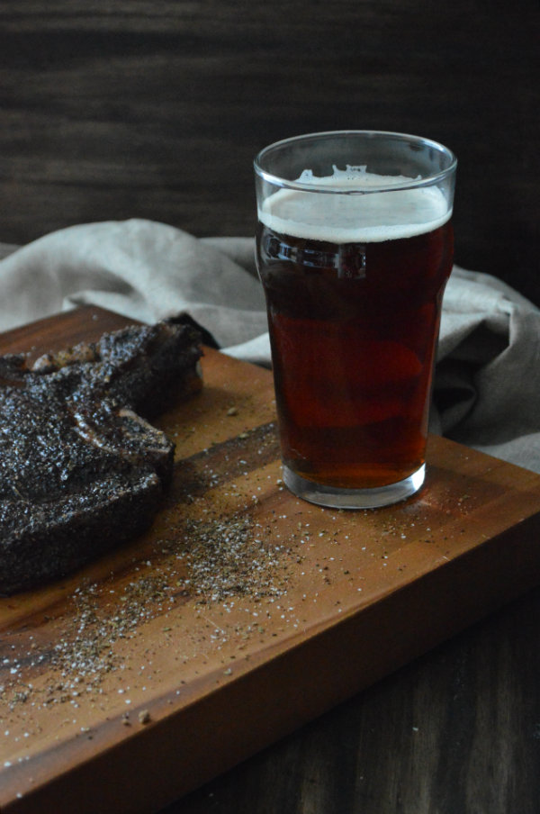 Alaskan Coffee Brown Ale Paired with Coffee Rub Steak | CaretoPair.com