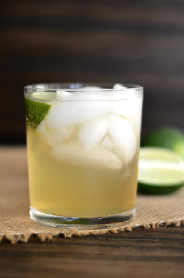 The Foghorn Cocktail; It's like a moscow mule with gin! CaretoPair.com