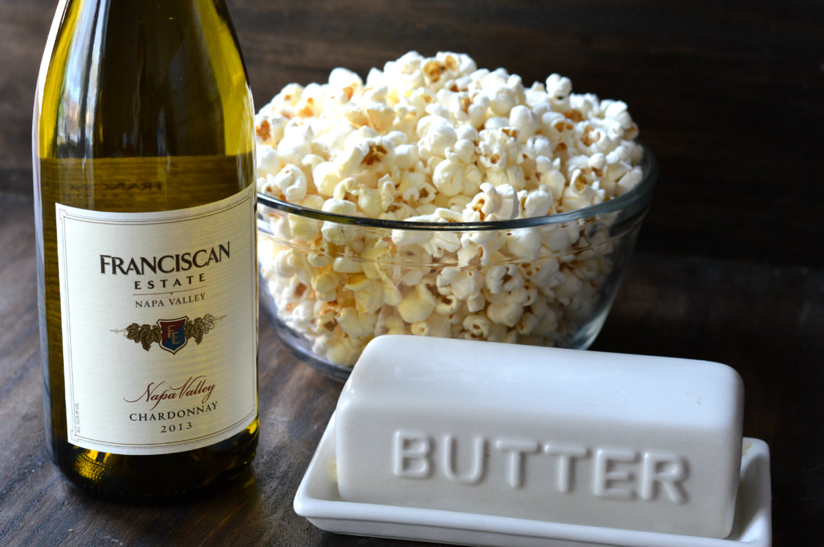What Wine to Pair with Chardonnay. The Perfect Popcorn Wine Pairing!