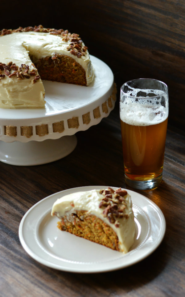 Classic beer pairing: carrot cake and IPA!