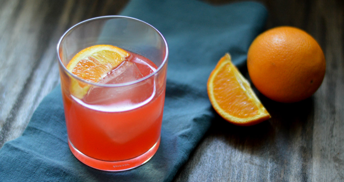 The Chapala Cocktail uses fresh oranges, lemons and of course....tequila | CaretoPair.com