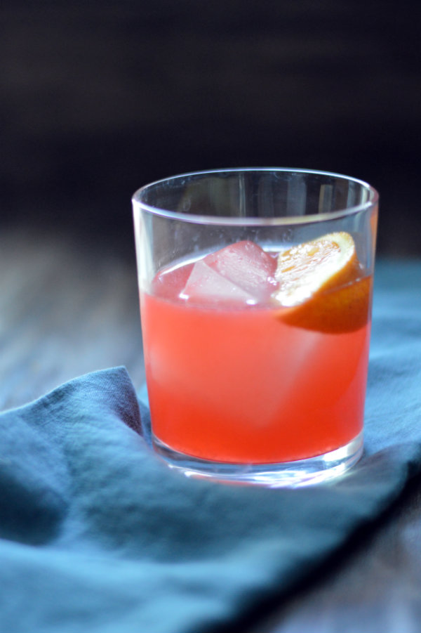 The Chapala Cocktail uses fresh lemon, orange, and everyone's favorite: tequila!