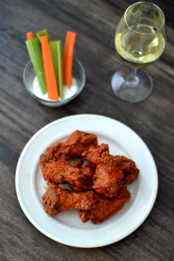 Finding wine to pair with chicken wings can be tough, but there are a few that work! Visit CaretoPair.com to learn about what works...and what doesn't.