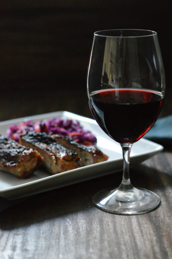 Lots of red wines pair perfectly with grilled ribs. Try Zinfandel, Syrah, or even Cabernet Sauvignon. Visit CaretoPair to find out more!