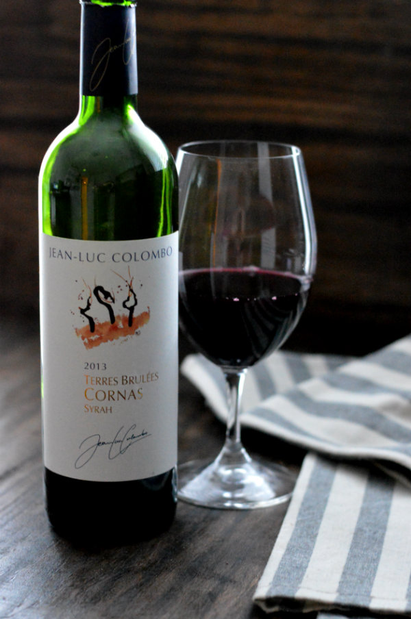Jean Luc Colombo Cornas Red Wine Paired Perfectly with Roasted Bone Marrow. Made from 100% Syrah, it makes a perfect wine pairing!