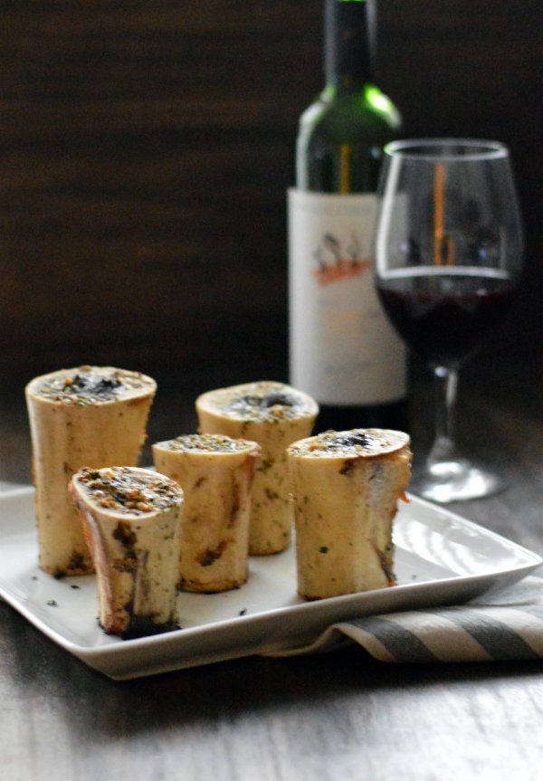 Recipe for Roasted Bone Marrow | Wine Pairing Syrah | Roasted Bone Marrow is a Superfood to help heal illness!
