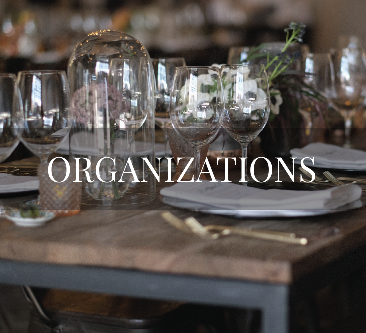 Is environmental sustainability and/or social consciousness an integral part of your organization's mission? Do you host events as a form of fundraising? Allow us to provide you with a plan that outlines steps to green your event. Uphold your mission by making a tangible impact on the environment and local community through your galas, fundraisers, lunches, dinners.