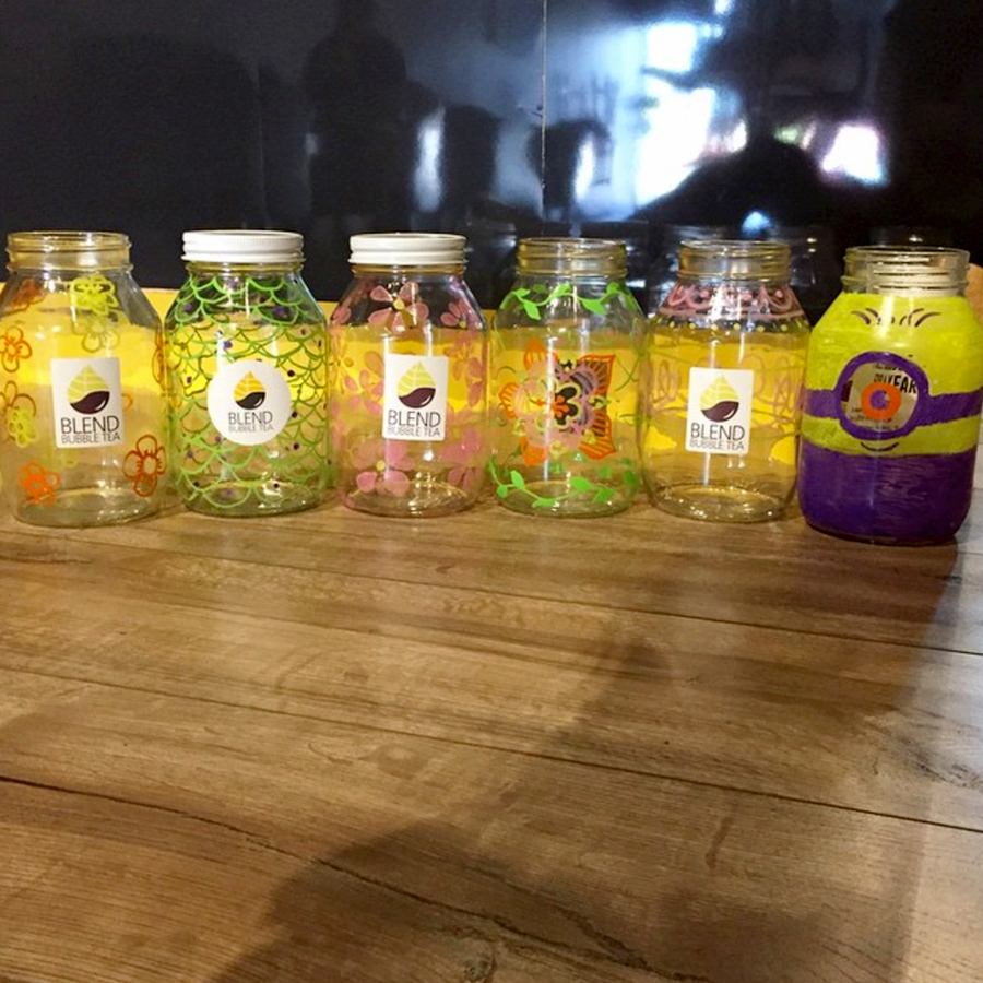 Easter Blend Hunt Decorated Jars