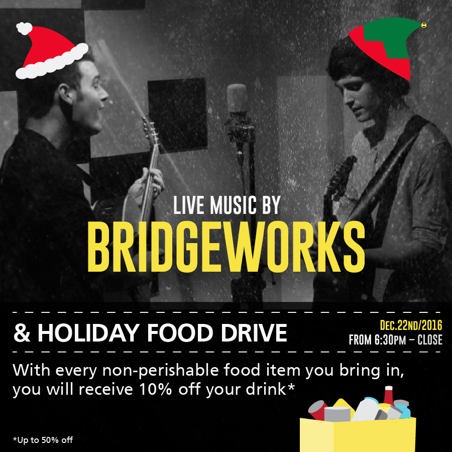 Bridgeworks & Food Drive