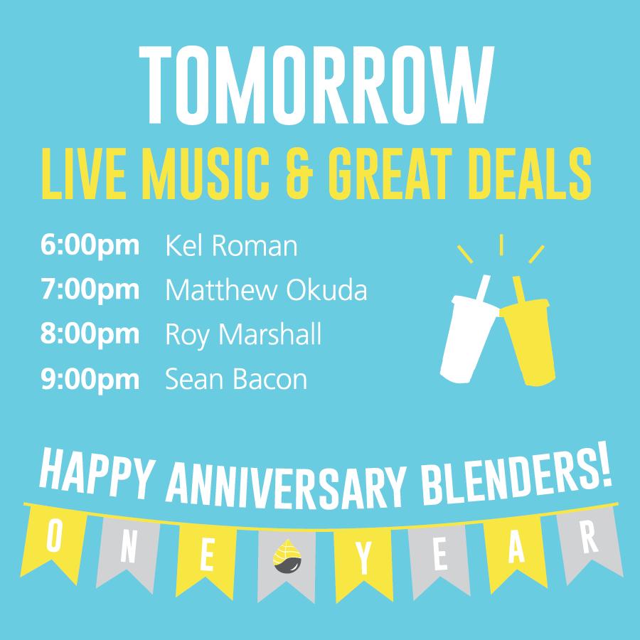 Anniversary Live Music Set List