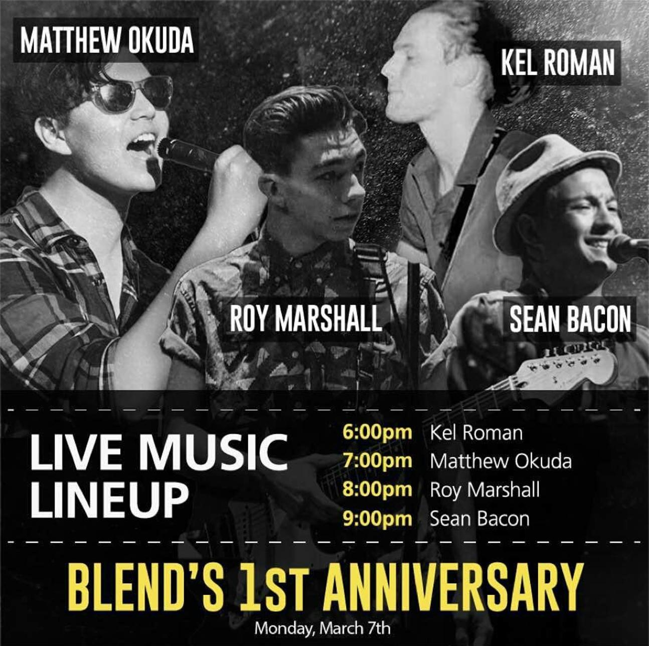 Blend 1st Anniversary Live Music