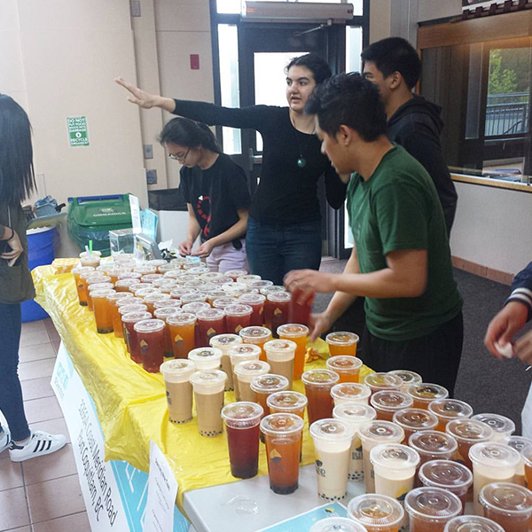Catering at Pinetree Secondary