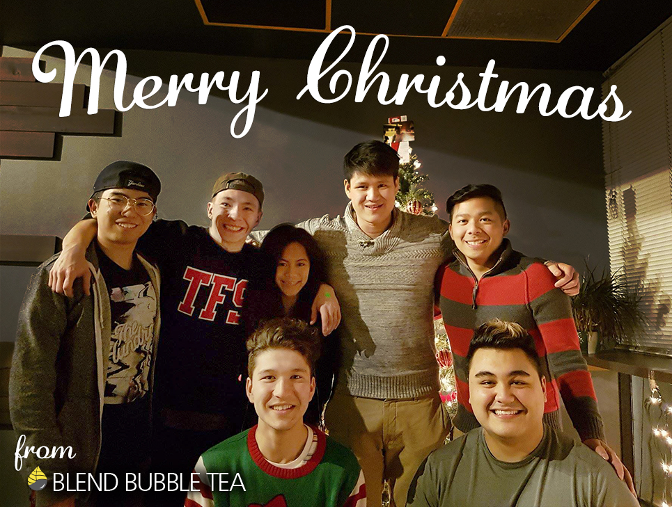 Merry Christmas from Blend Bubble Tea