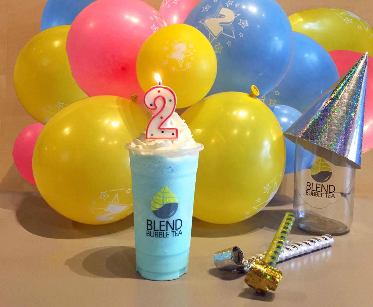 Blend Bubble Tea 2nd Birthday