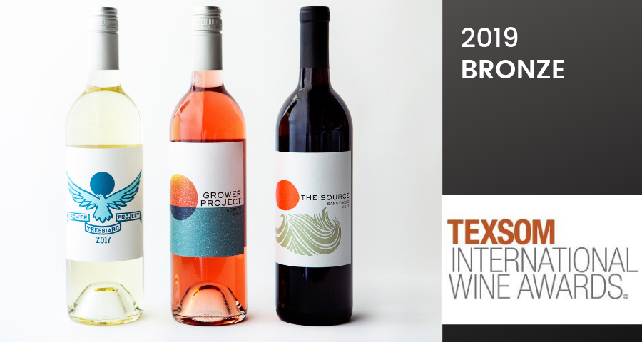 All our Grower Project wines won Bronze at TexSom International Wine Awards!