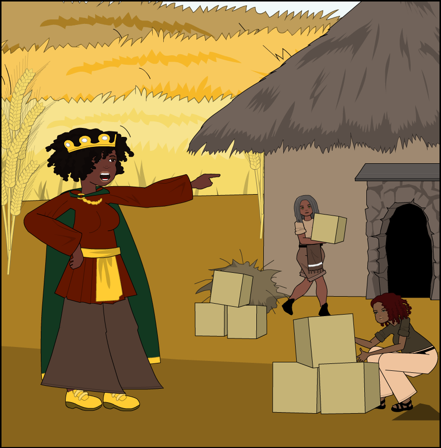 Queen Ana Nzinga has commanded those in her kingdom to begin stockpiling the supplies she gathered to aid in rebuilding Angola after many years of war. She builds a series of large huts for storage, and each holds at most 216 cube bundles of size 3x3x3 with no space left over.   What is the largest number of cube bundles of 2x2x2 size that fit in one hut?