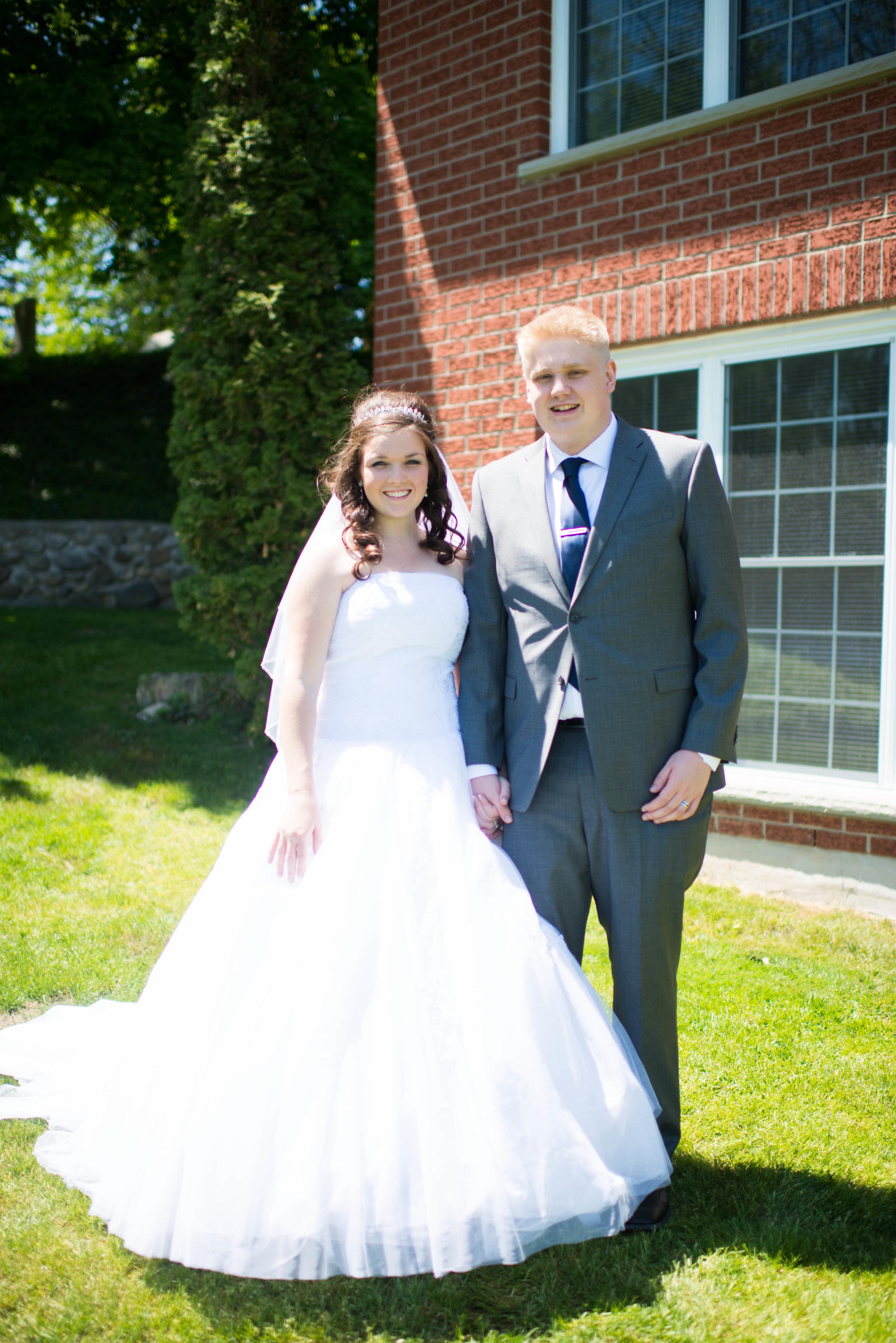 Adam & Kylie @ Bingemans Weddings
