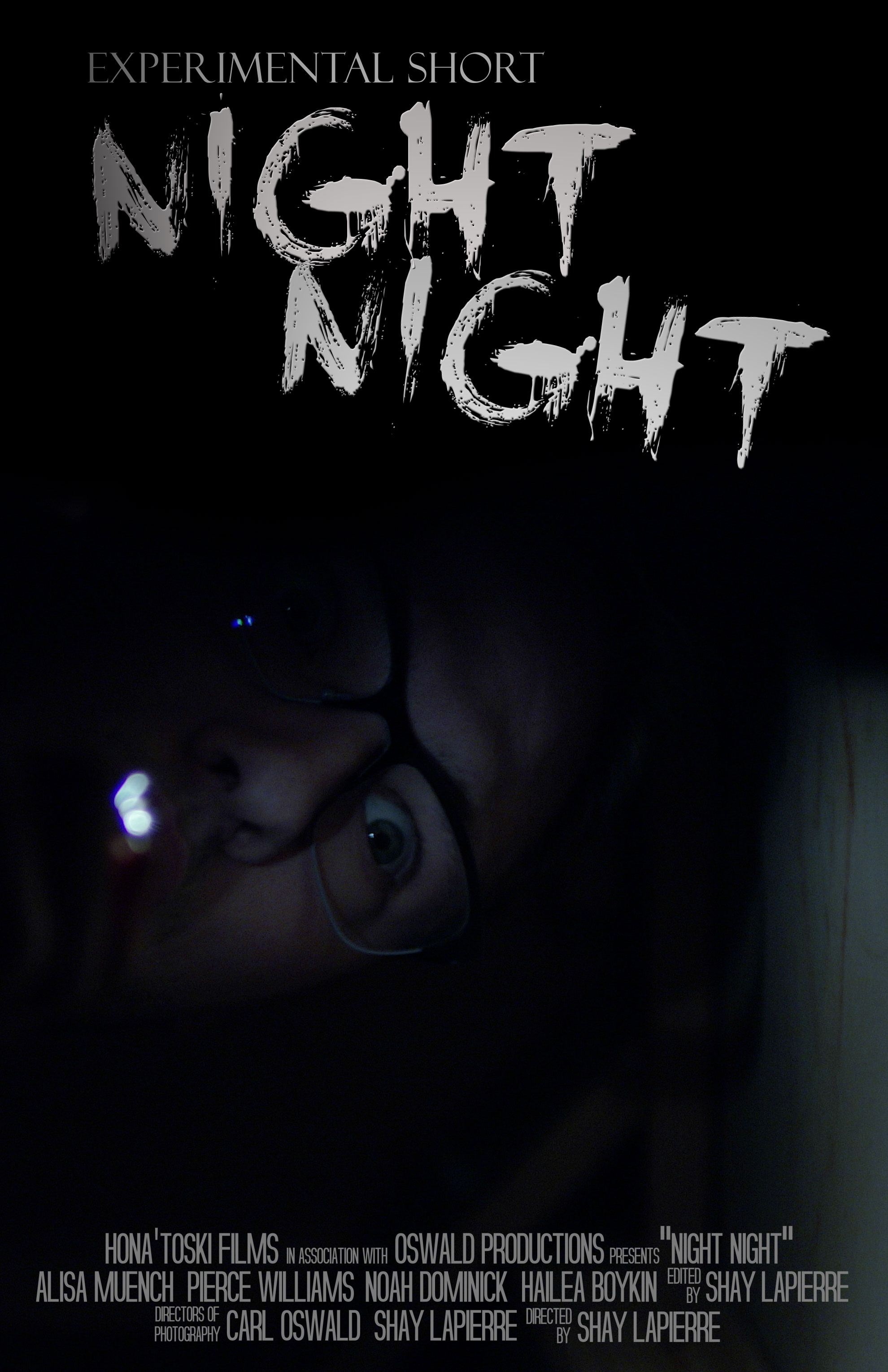 Night Night - Directed by Carl Oswald and Shay LaPierreThere's no need to search for they will seek, the depths of your mind have risen and leaked.
