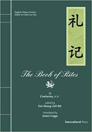 """The Li Ji (book of Rites), edited by Confucius, says:  'Music is intimately connected with the essential relations between beings.' """""""