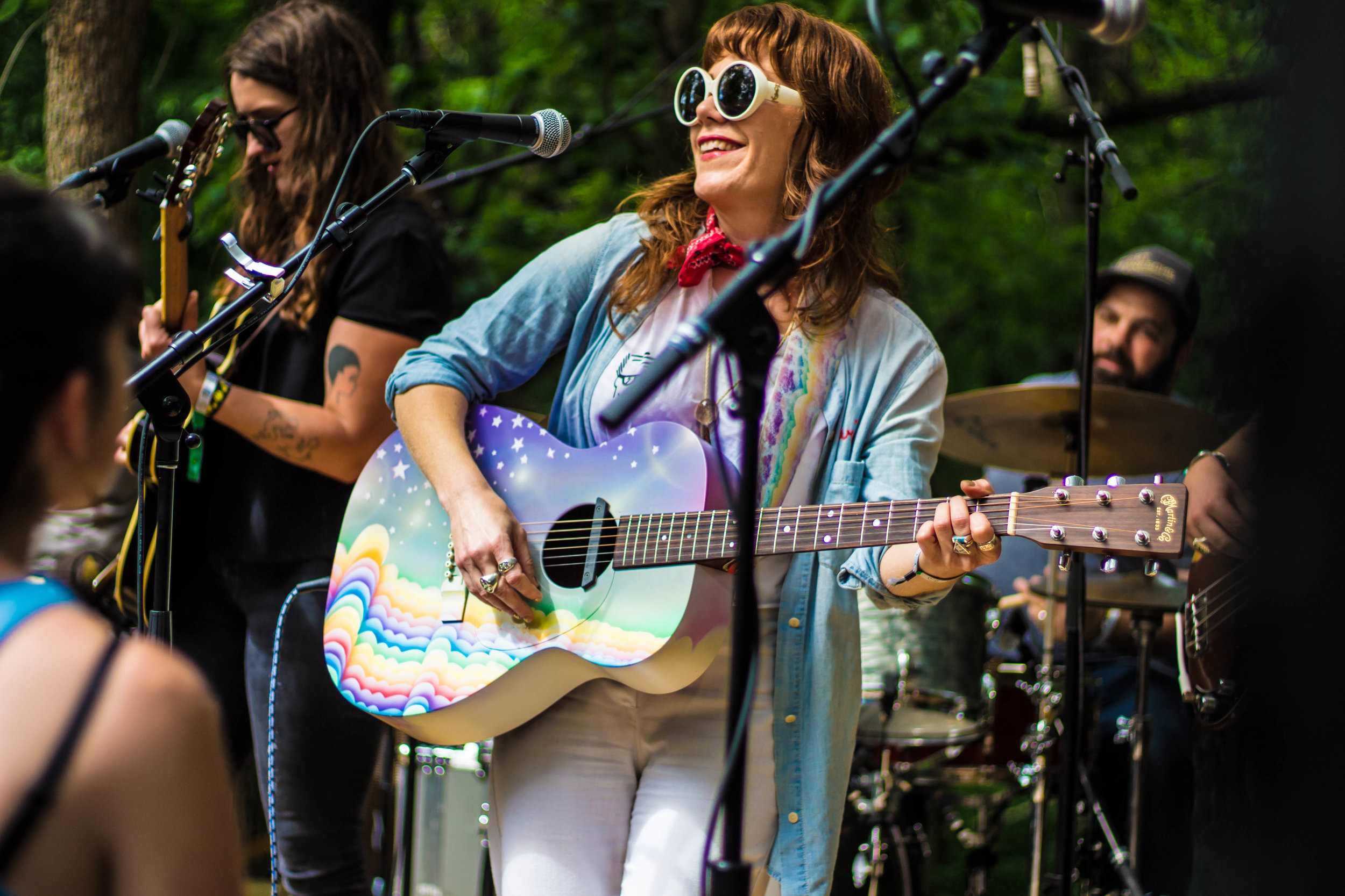 Jenny Lewis at her surprise set