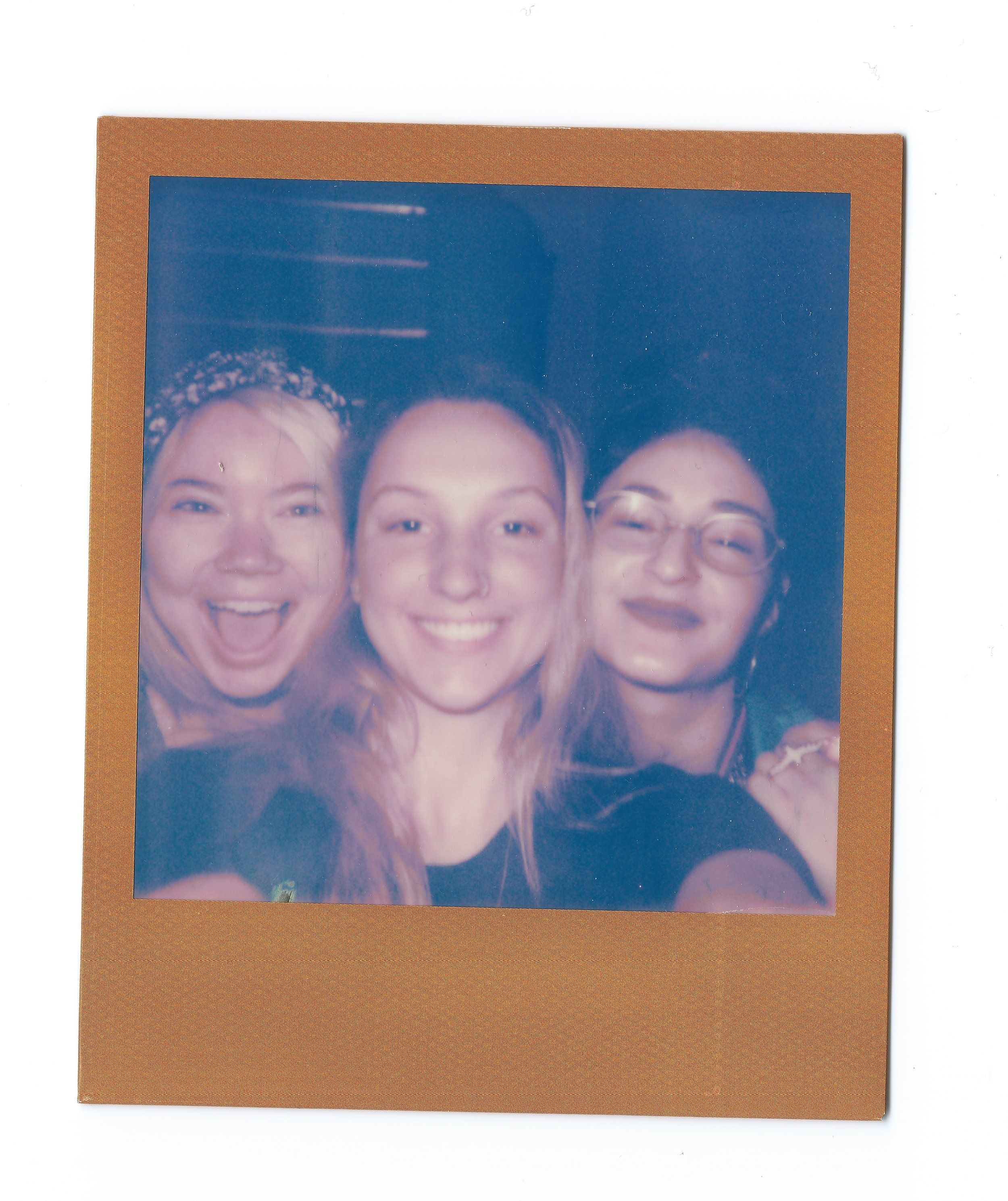 Rachel Turley, Zoe Kraft, and Skela (Left to Right)