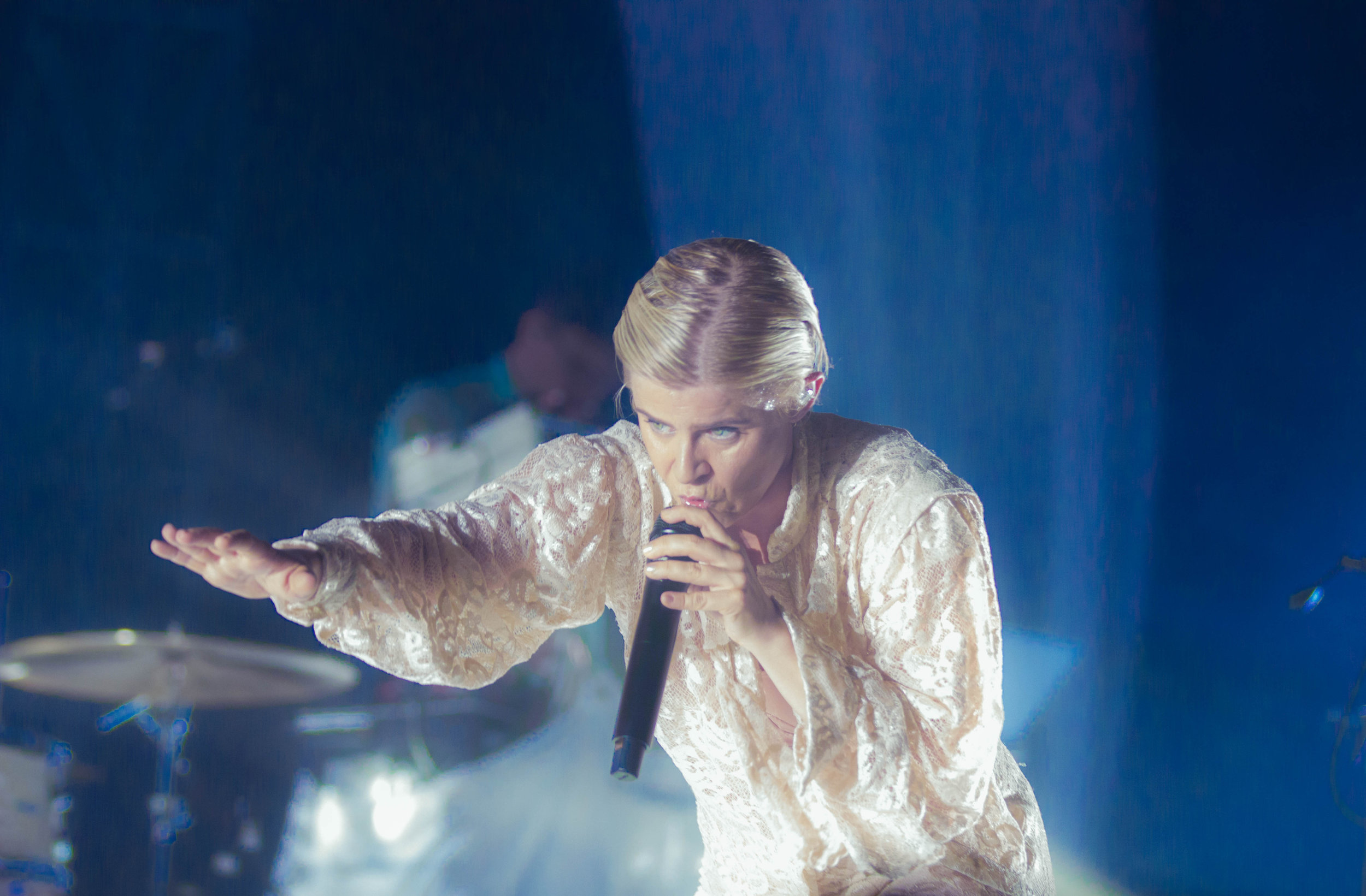 Robyn closing out the festival
