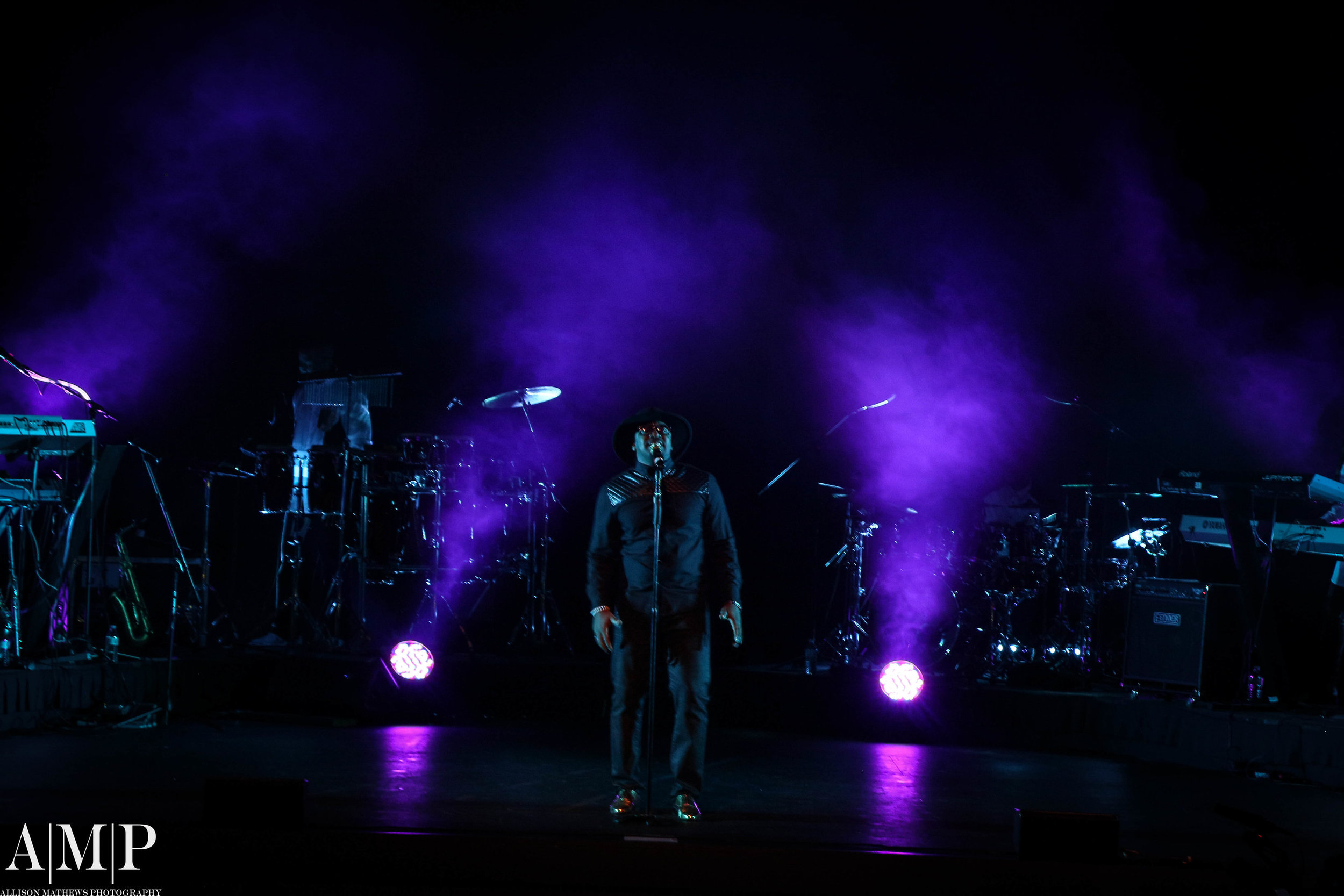 """Vocalist Marcel Anderson gives a heartfelt soulful performance of John Legend's """"All of Me""""."""