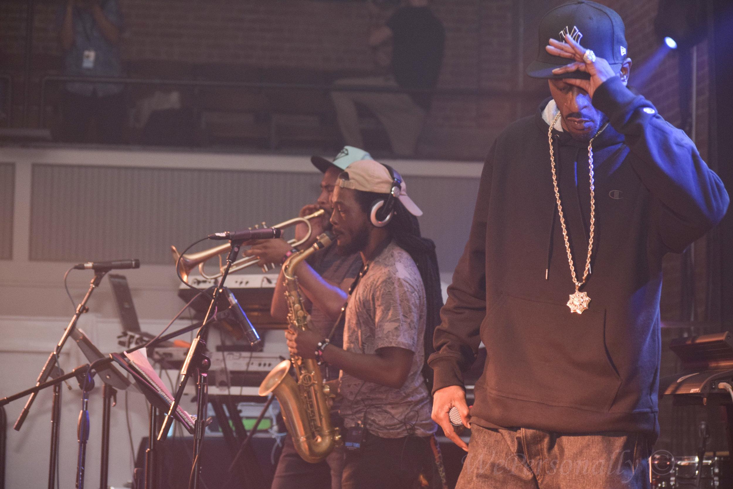 Hip Hop Legend Lyricist Rakim rocks the mic at the Durham Armory!
