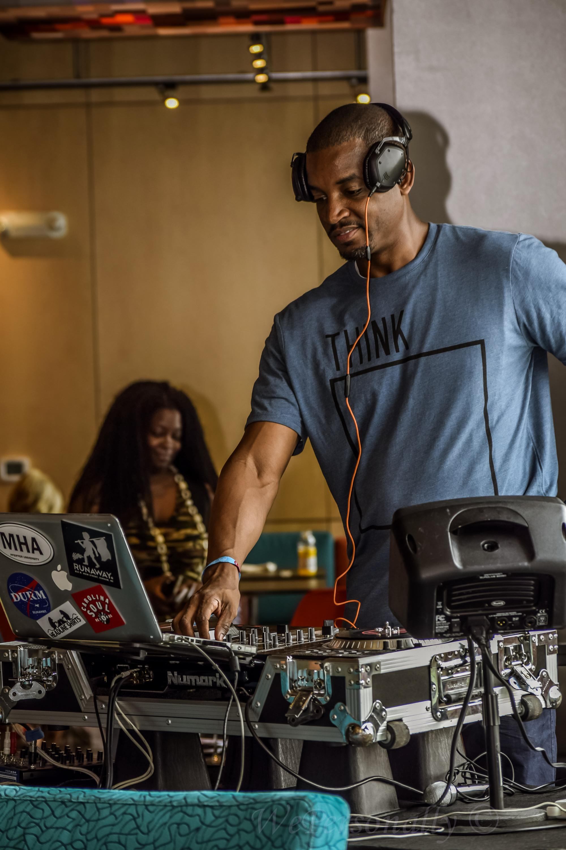 DJ Rem.E brings the mixes to The Meet-Up!