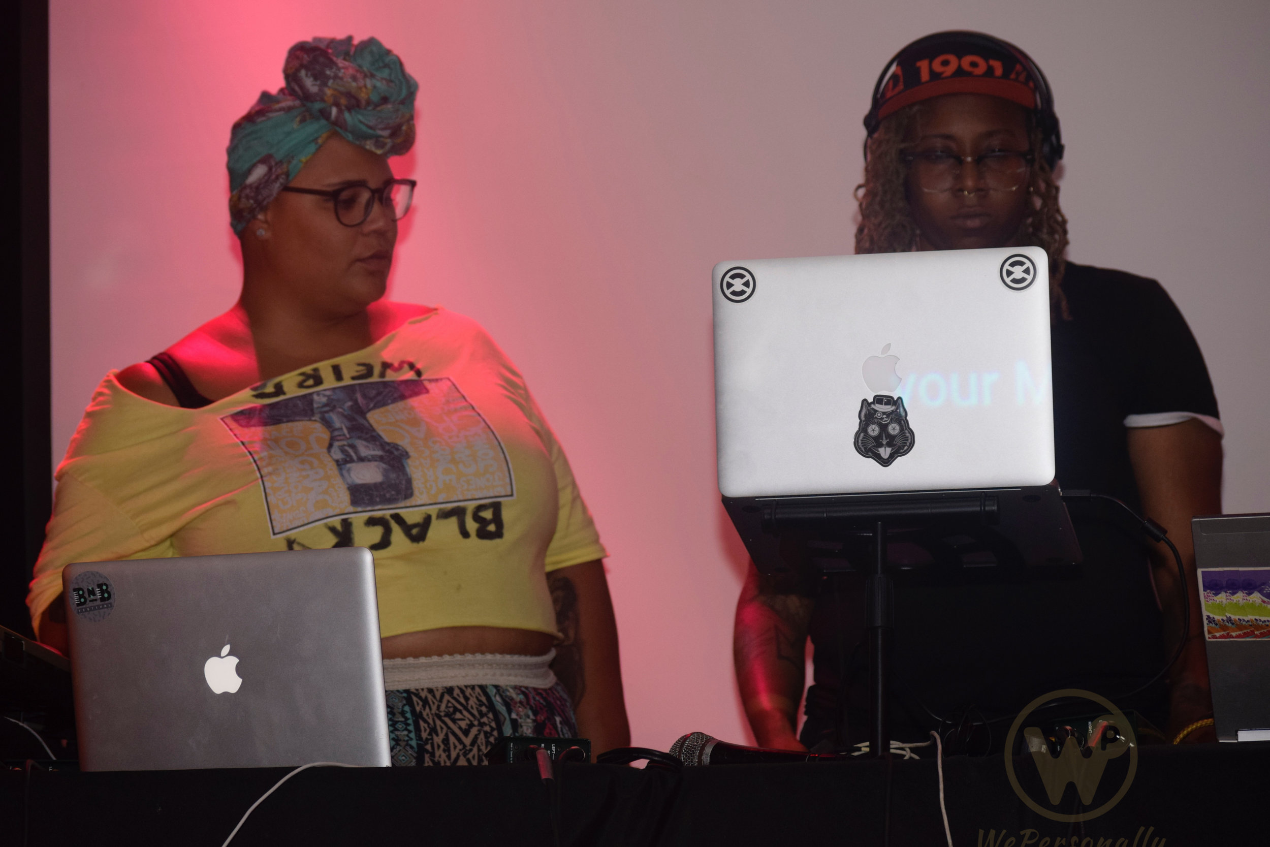 (Left) Conjure Event & Summer of Weirdos Curator and Artist Gemynii