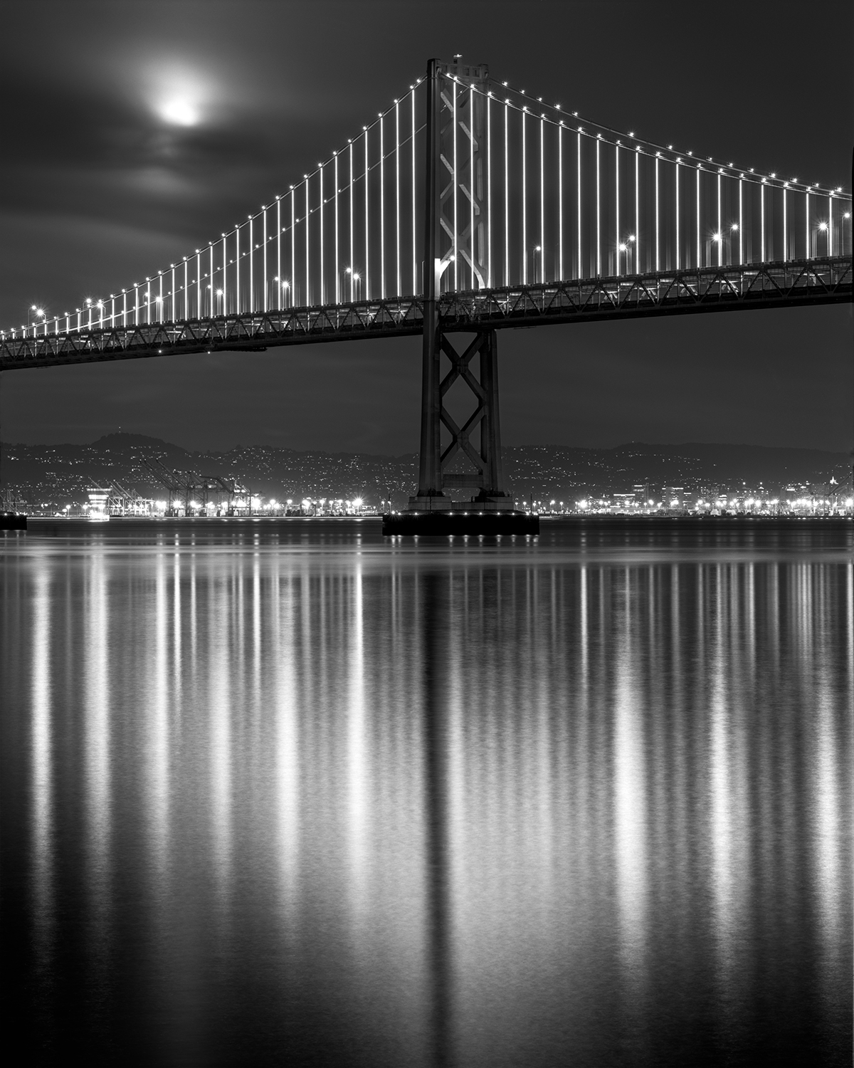 Bay Bridge Reflection, San Francisco, 2018