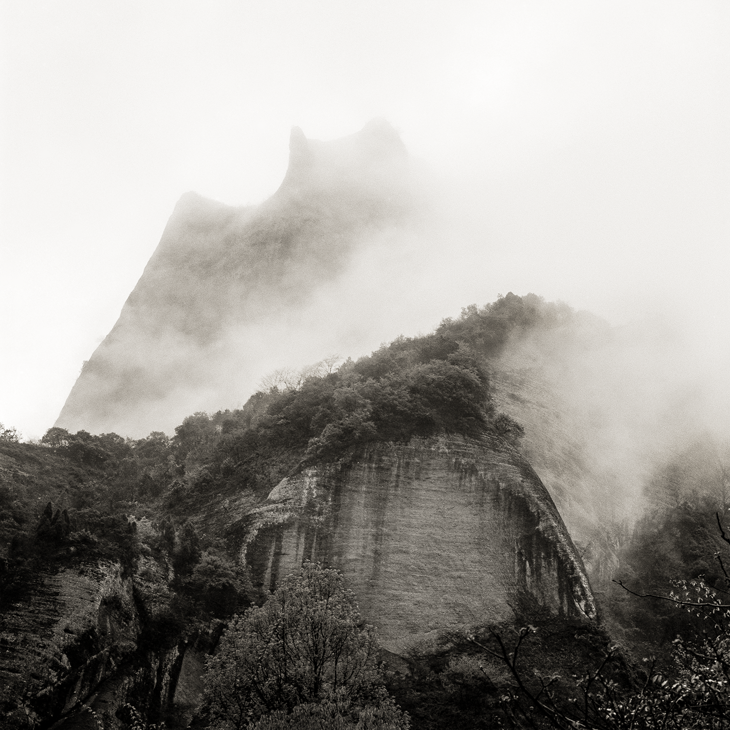 Emerging from the Fog, China, 2018