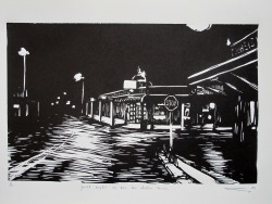 Quiet night in the Ten Dollar Town