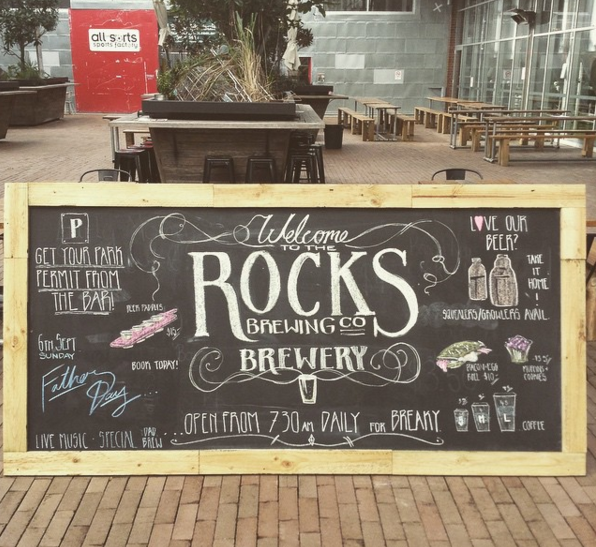 Chalk Work for Rocks Brewing Co 2015 advertising.png