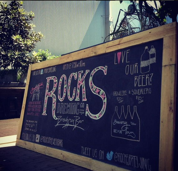 Chalkwork for Rocks Brewing Co 2015.png